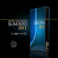 Unidus SLIMZERO001 Ultra Thin 002 Lubricated 0.02mm Condoms Lubricant 8P