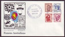1970 Famous Australians On Po Official First Day Cover - Unaddressed (Ps6488)