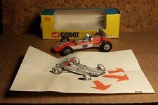 Vintage Corgi Toys | 1960's 1970's | Lotus Climax F1 Race Car | Original box