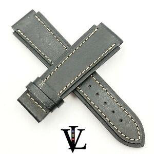 YEMA - WATCH STRAP - GENUINE LEATHER - 19 MM - NOS - ORIGINAL & NEW