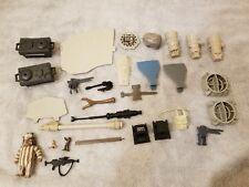 Vintage Star Wars MILLENNIUM FALCON X-WING SNOWSPEEDER AT-ST accessory/parts lot