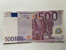 Banconota 500 Euro Firma Duisemberg Per Collezionisti