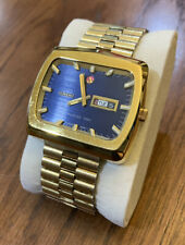 Rado NCC 101 Vintage Oversized 42mm Men's Watch W/ Date, Day, Month Swiss Made