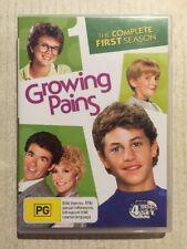 GROWING PAINS Season 1 (DVD R4 1985) Alan Thicke Kirk Cameron VG COND Plus Pilot