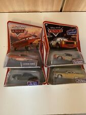 Disney Pixar Cars Bundle X4 Tex Cutlass Cartrip Lightning Ramone Diecast 1:55