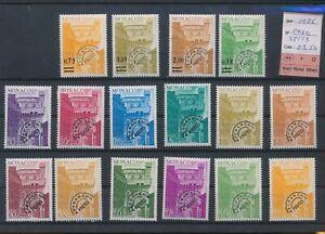 LN68194 Monaco 1976 precancel fine lot MNH cv 23,5 EUR