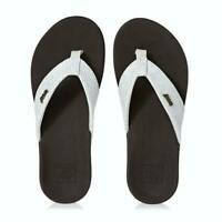REEF Ortho-Spring - Womens Sandals - Flip Flops - Beach Shoes - Brown White