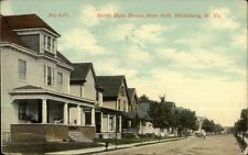 Wellsburg WV North Main From 16th c1910 Postcard