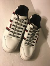 Sprung Athletic Split-S Shoes White Red Men's Size:10 US10 Tennis Sneakers