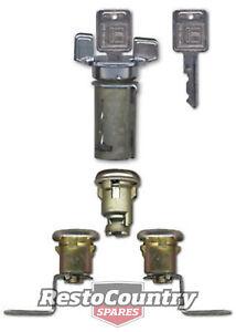 Holden Ignition Barrel + Door + Boot Locks HQ HJ HX LJ LH LX lock switch