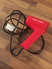 VINTAGE 1980'S CLAIROL COMPACT TURBO HAIRDRYER RETRO TRAVEL SIZE