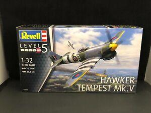 Revell Hawker Tempest Mk.V Fighter Plane 1:32 Scale Plastic Model Kit 03851
