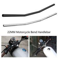 7/8inch 22mm Motocicleta Moto Retro Manillar Aluminio Bend Handlebar Handle Bar