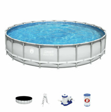 """New brand Coleman Steel Frame 90331 22' x 52"""" Above Ground Swimming Pool"""