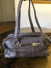 CHANEL Chocolate Bar Square Stitch SMALL Boston Black Caviar Leather Bag Handbag