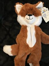 Build A Bear Red Fox Rare HTF Brand New With Tags Unstuffed