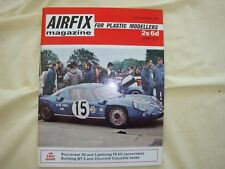Airfix Magazine December 1968.Killybegs Co donegal Railway.Buccaneer S2.
