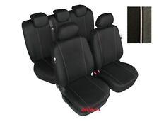 Full Set Black Tailored Seat Covers For Ford Fiesta Mk5, Mk6, Mk7 5 door (HH)