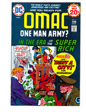 OMAC #2 in VF condition 1974 DC comic by JACK KIRBY Bronze age comic