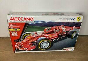Meccano Ferrari SF71H 18303 Set- Contents New & Unopened- Formula 1 Racing Car