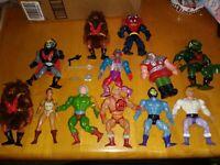 Vintage MOTU Masters of the Universe Action Figures He-Man SKELETOR HORDAK