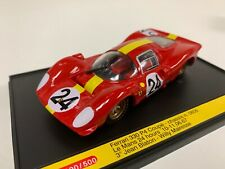 1/43 Brumm Ferrari 330 P4 Coupe Chassi 0856 Car #24 from 1967 24 H LeMans   D152