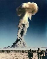 TUMBLER-SNAPPER NUCLEAR BOMB NEVADA TEST 16x20 SILVER HALIDE PHOTO PRINT