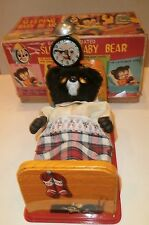 Sleeping Bear Battery-Op Toy-Linemar-1950s-NMIB/MIB & Working