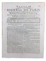 Abbaye de Cluny en 1790 Haute Saône Macon Révolution Française Rare Journal