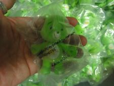 """20 lot CARE BEAR Green Oopsy shooting star Plastic Action Figure Toy JOINTED 3"""""""