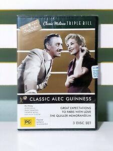 Classic Triple Bill Alec Guinness 3 DVD Set R4 new in plastic