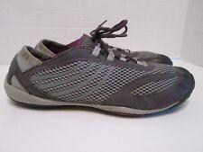 Merrell Pace Glove Dark Shadow Womens Barefoot Running Trail Shoes Size 10