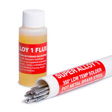 Muggy Weld Super Alloy 1 Pot Metal Solder Full Kit 3/32