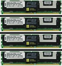 16GB (4X4GB) FOR HP PROLIANT DL360 G5 DL380 G5 DL580 G5 ML150 G3 ML350 G5
