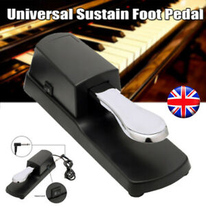Sustain Pedal Keyboard Foot Damper Pedal Footswitch For Casio Yamaha Piano Pedal