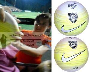 Meghan Klingenberg Portland Thorns USWNT Autograph Signed USA Soccer Ball Proof