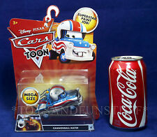 New CANNONBALL MATER Pixar CARS TOON Disney MEGA SIZE Superstar Paint Job! MOC