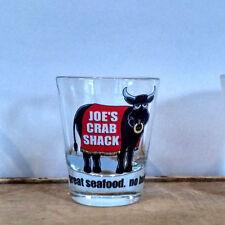 "Joe's Crab Shack Shot Glass - ""great seafood. no bull."""