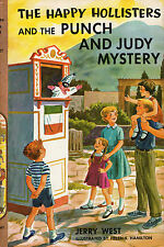 HAPPY HOLLISTERS & The PUNCH AND JUDY Mystery #H-27 Jerry West 1964 Hcvr + DJ