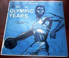 Songs of The Olympic Years 1896-1960   20th Century Fox  SFX 3042  Vinyl LP  VG+