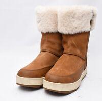 Koolaburra by UGG 1105889 Tynlee Waterproof Suede Shearling Fur Tall Boots Sz 10
