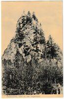 Ansichtskarte Blick auf Riederstein bei Tegernsee - schwarz/weiß