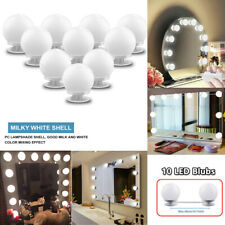 10 Bulbs Hollywood Style Led Vanity Dimmable Mirror Lamp Lights Kit for Makeup