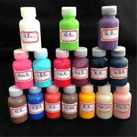 1 Bottle 30ml Leather Edge Oil Paint DIY Handmade Goods 6 Colors