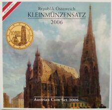 KMS Österreich 2006 (Austrian Coin Set) im Klappfolder