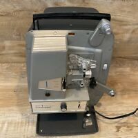 Sears Projector Eight 8mm or Super 8 Easi-Load In Metal Case