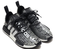 adidas NMD R1 atmos CORE BLACK RUNNING Sneakers Shoes WHITE 19FW S 27.5cm US9.5