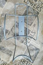 """Buddy Products 8.5"""" Large Wipe Canister Holder Wall Mount Silver"""