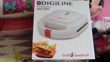Sandwichera Grill DigiLine GRC 5000 bocadillos sandwich