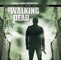 GLOBAL STAGE ORCHESTRA - MUSIC FROM WALKING DEAD  2 CD NEW!